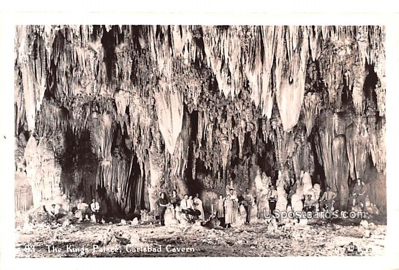 The Kings Palace - Carlsbad Caverns, New Mexico NM Postcard