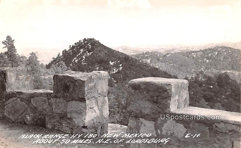 Black Range - Lordsburg, New Mexico NM Postcard