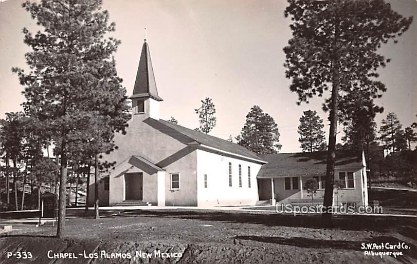 Chapel - Los Alamos, New Mexico NM Postcard