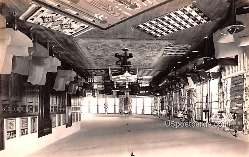 Interior Room with Tons of Chairs - Misc, New Mexico NM Postcard