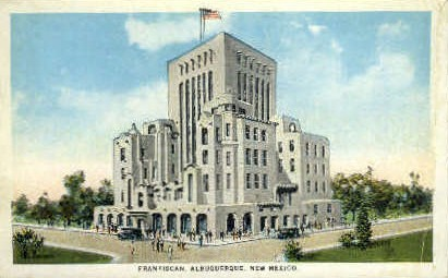 Franciscan Hotel - Albuquerque, New Mexico NM Postcard