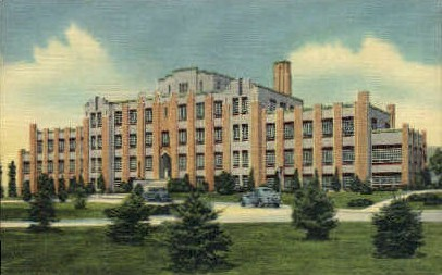 Indian Sanatorium - Albuquerque, New Mexico NM Postcard