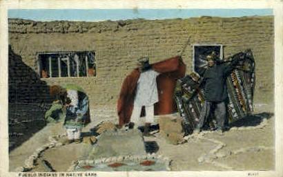 Pueblo Indians - Misc, New Mexico NM Postcard