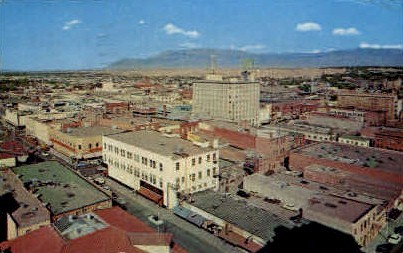 Simms Building - Albuquerque, New Mexico NM Postcard
