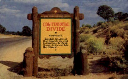 Continental Divide - Albuquerque, New Mexico NM Postcard