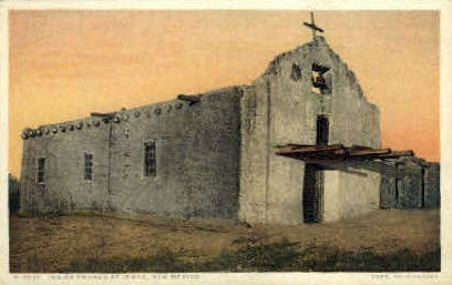 Indian Church - Jemez Springs, New Mexico NM Postcard