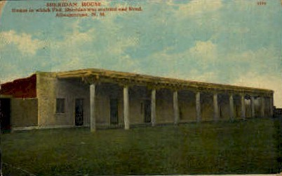 Sheridan House - Albuquerque, New Mexico NM Postcard