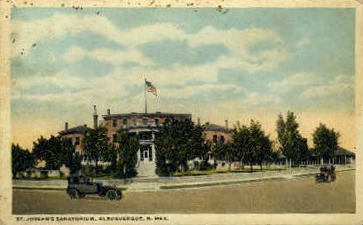 St. Joseph's Sanatorium - Albuquerque, New Mexico NM Postcard