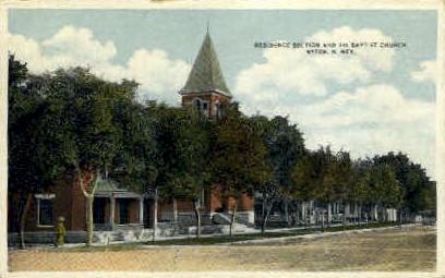 First Baptist Church - Raton, New Mexico NM Postcard