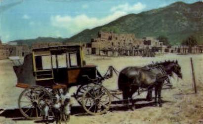 Historic Indian Pueblo - Taos, New Mexico NM Postcard