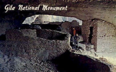 Gila National Monument - Silver City, New Mexico NM Postcard
