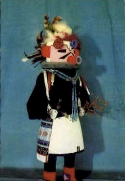 The Kachina Doll - Misc, New Mexico NM Postcard