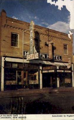 Up-to-Date Caf» - Lordsburg, New Mexico NM Postcard