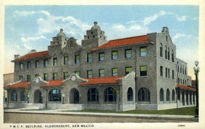 Y.M.C.A. Bldg - Albuquerque, New Mexico NM Postcard