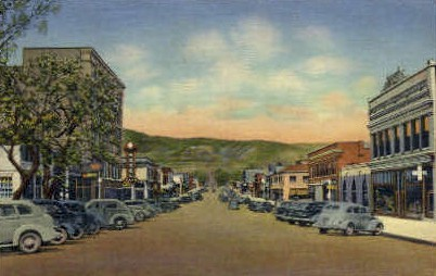 Second St. - Raton, New Mexico NM Postcard