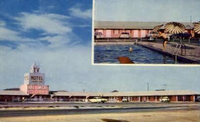 Bel Shore Motel - Lordsburg, New Mexico NM Postcard