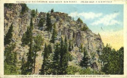 Palisades of the Cimarron - Raton, New Mexico NM Postcard