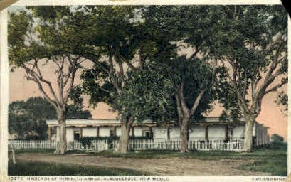 Hacienda of Perfecto Armijo - Albuquerque, New Mexico NM Postcard