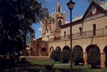 San Felipe de Neri Church - Albuquerque, New Mexico NM Postcard
