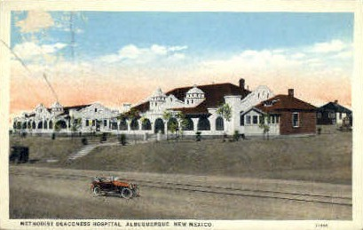 Methodist Deaconess Hospital - Albuquerque, New Mexico NM Postcard
