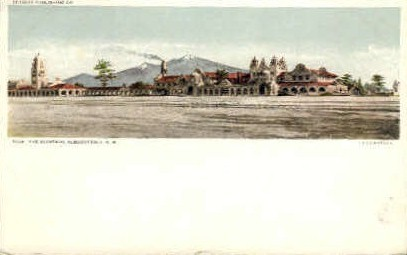 The Alvarado - Albuquerque, New Mexico NM Postcard