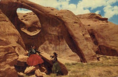 The Land of the Navajo Indians - Misc, New Mexico NM Postcard