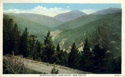 Mountain Road - Raton, New Mexico NM Postcard