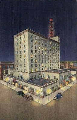 Hotel Hilton - Albuquerque, New Mexico NM Postcard