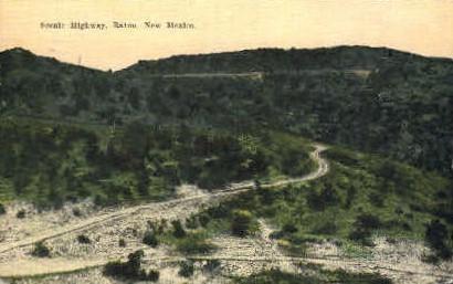 Scenic Highway - Raton, New Mexico NM Postcard