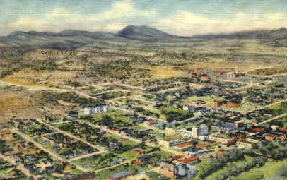 Old City - Silver City, New Mexico NM Postcard
