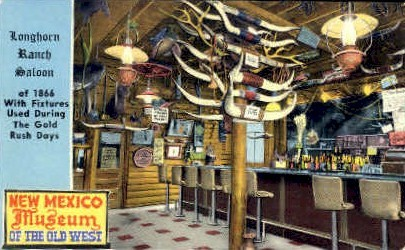 Longhorn Ranch Saloon - Albuquerque, New Mexico NM Postcard