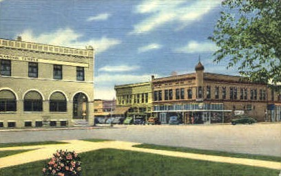 Tenth & New York - Alamogordo, New Mexico NM Postcard