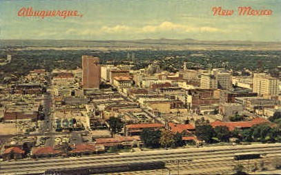 Albuquerque, New Mexico, NM Postcard