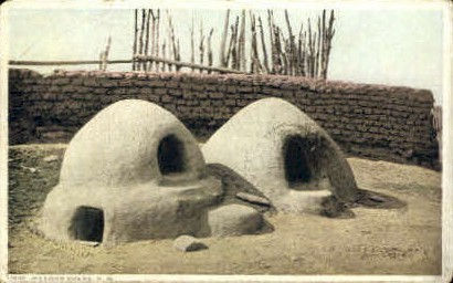 Mexican Ovens - Misc, New Mexico NM Postcard