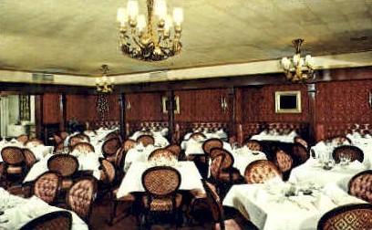 The Palace, Dining Room - Santa Fe, New Mexico NM Postcard