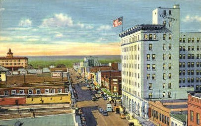 Central Ave. - Albuquerque, New Mexico NM Postcard