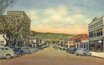 Second Street - Raton, New Mexico NM Postcard
