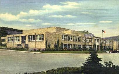 Raton High School - New Mexico NM Postcard