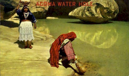 Acoma Water Hole - Albuquerque, New Mexico NM Postcard