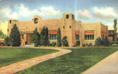 Public Library - Albuquerque, New Mexico NM Postcard