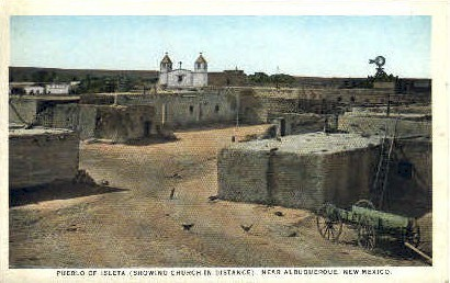 Pueblo of Isleta - Albuquerque, New Mexico NM Postcard