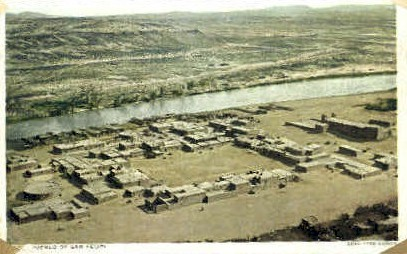 Pueblo of San Felipe - Bernalillo, New Mexico NM Postcard