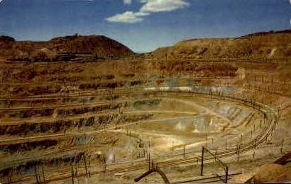 Copper Mine - Santa Rita, New Mexico NM Postcard