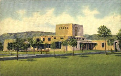 Library, University of New Mexico - Albuquerque Postcard