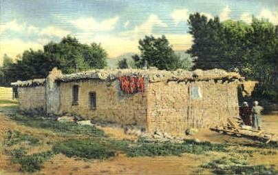 A Bit of Old New Mexico - Misc Postcard