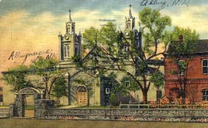 The Church of San Felipe de Neri - Albuquerque, New Mexico NM Postcard