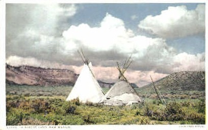 In Apache Land - Misc, New Mexico NM Postcard
