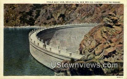 Eagle Nest Dam - Raton, New Mexico NM Postcard