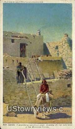 Hopi Indians - Misc, New Mexico NM Postcard