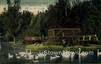 Alameda Park - Alamogordo, New Mexico NM Postcard